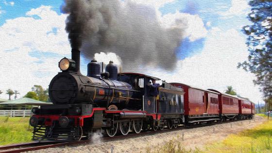 Queensland Pioneer Steam Railway wallpaper