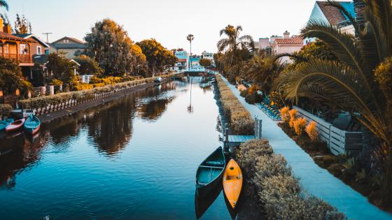 Venice Canals (Los Angeles) wallpaper