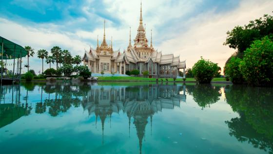 Mahawiharn Temple (Thailand) wallpaper