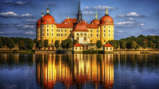 Moritzburg Castle wallpaper