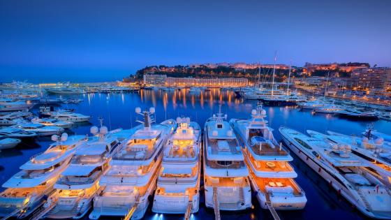 Port Hercules, Monaco wallpaper