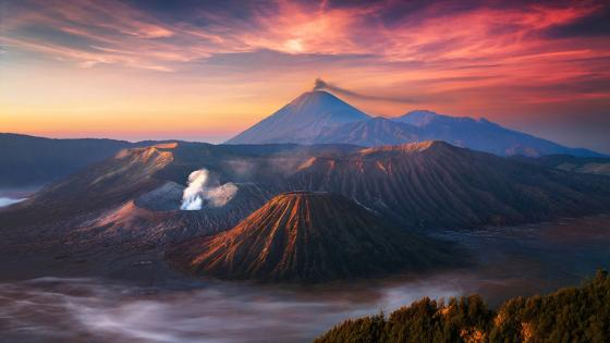 Mount Bromo wallpaper