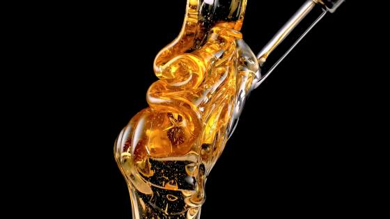 Liquid honey wallpaper