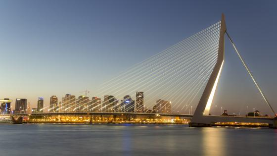 Erasmus Bridge wallpaper