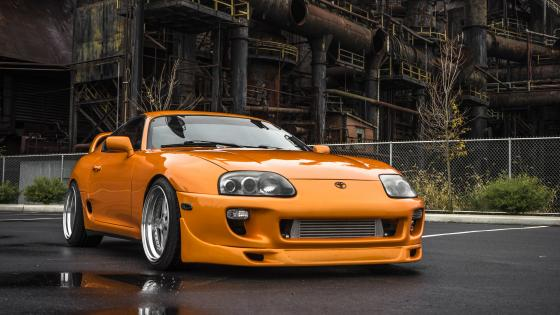 Toyota Supra (Fast and Furious movie car) wallpaper