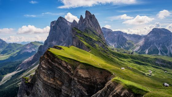 Odle Mountains wallpaper