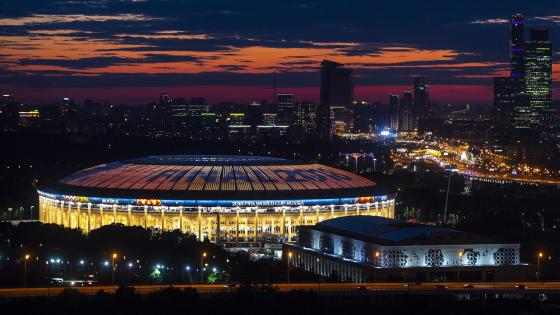 Luzhniki Stadium 2018 World Cup wallpaper