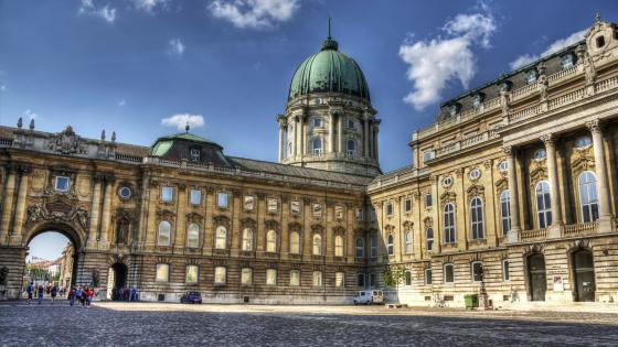 Buda Castle (Hungary) wallpaper