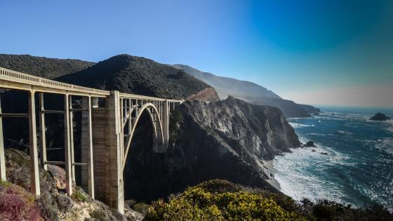 Bixby Creek Bridge wallpaper