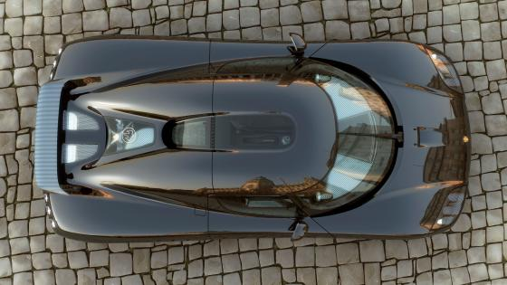 Koenigsegg CCX from above wallpaper