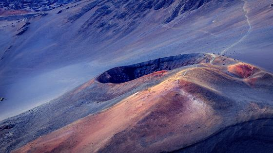 Haleakala Crater (Haleakalā National Park) wallpaper