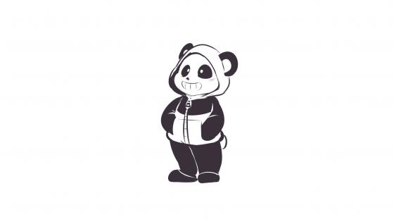 Panda dwawing wallpaper