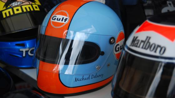 Racing helmets wallpaper