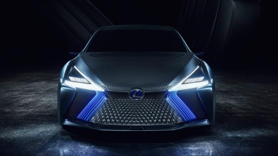 Lexus LS concept car wallpaper