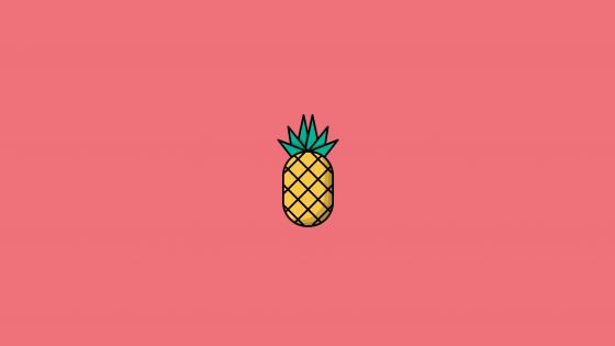Pineapple graphics wallpaper