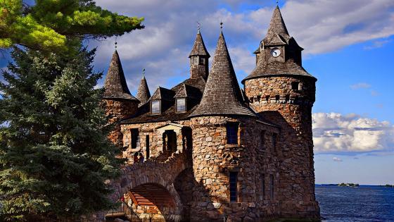 Boldt Castle wallpaper
