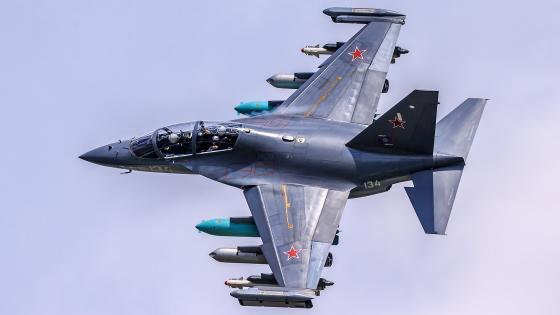 Yakovlev Yak-130 wallpaper