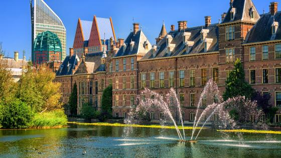 Binnenhof Palace wallpaper