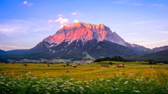 Zugspitze wallpaper
