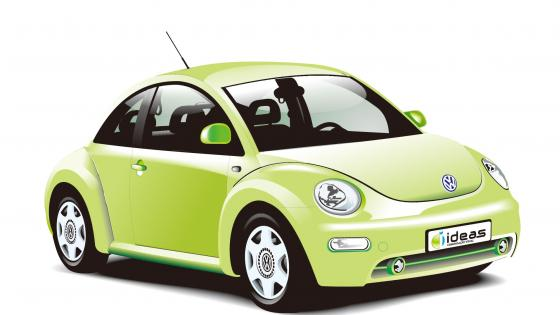 Volkswagen beetle VW Car wallpaper