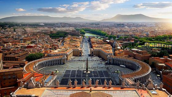 Saint Peter's Square wallpaper