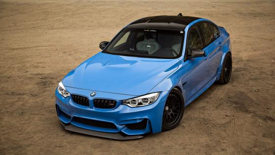 Blue BMW wallpaper