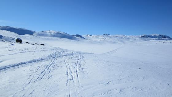 Back country skiing Norway wallpaper