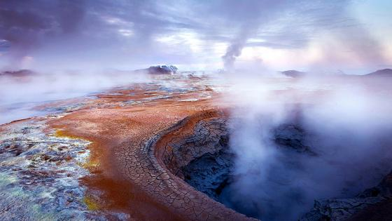 Geysir Geothermal Field wallpaper