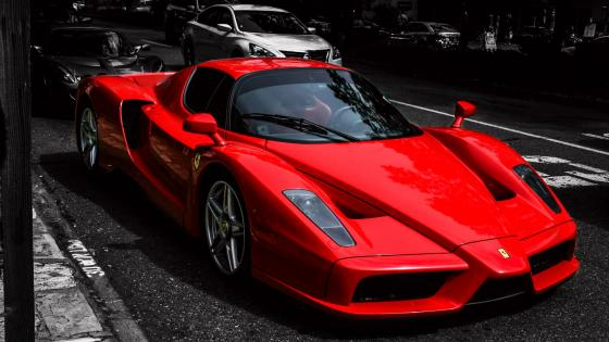 Enzo Ferrari wallpaper