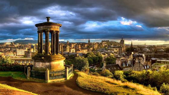 Dugald Stewart Monument (Scotland) wallpaper