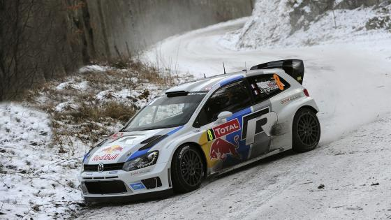 Volkswagen Polo WRC wallpaper