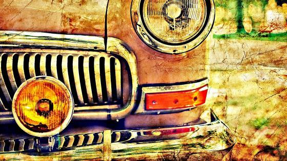 Vintage car wallpaper