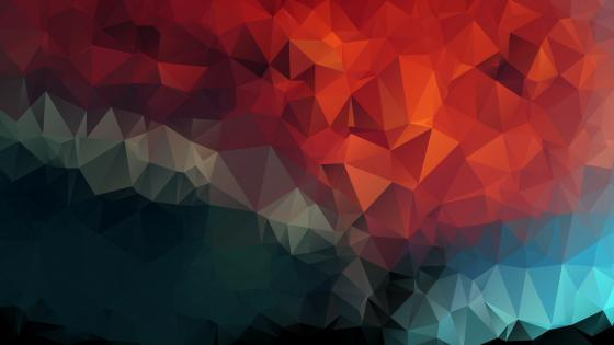Low-poly art wallpaper