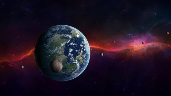 Kepler-452b exoplanet wallpaper