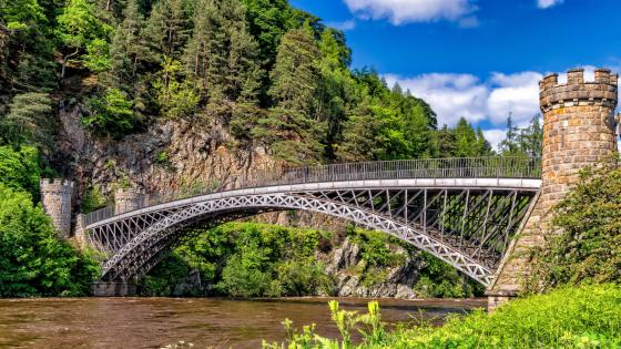 Craigellachie Bridge (Scotland) wallpaper