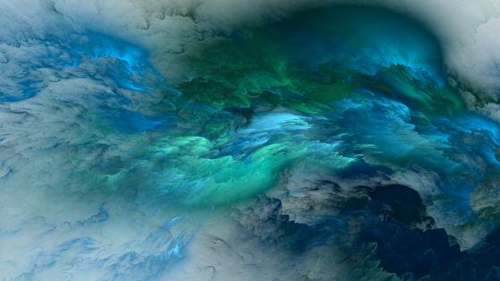 Clouds - Abstract art wallpaper