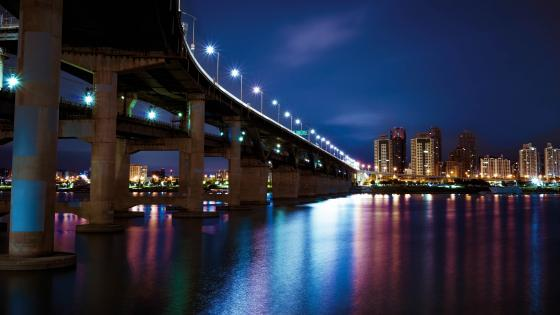 Cheongdam Bridge (Seoul) wallpaper