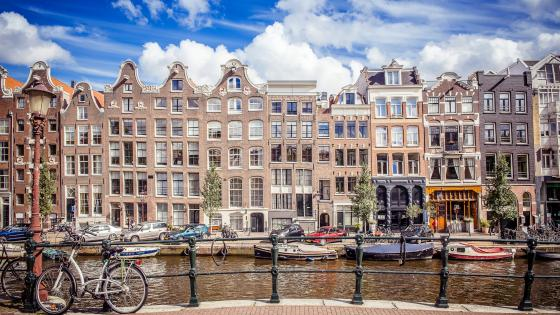 Beautiful Amsterdam wallpaper