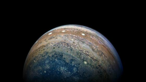 Jupiter Photo - Taken by NASA's Juno Spacecraft wallpaper
