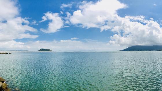 The calm sea wallpaper