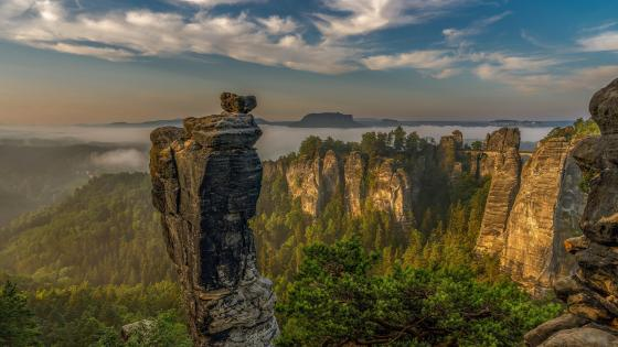 Germany, Saxon Switzerland wallpaper