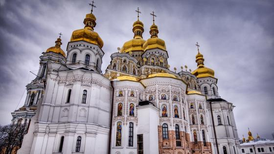 Kiev-Pechersk Lavra Monastery wallpaper