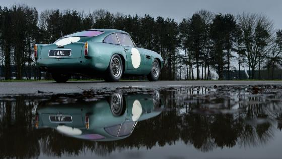 Aston Martin DB4 GT replica wallpaper
