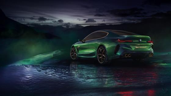BMW M8 Gran Coupe concept car wallpaper