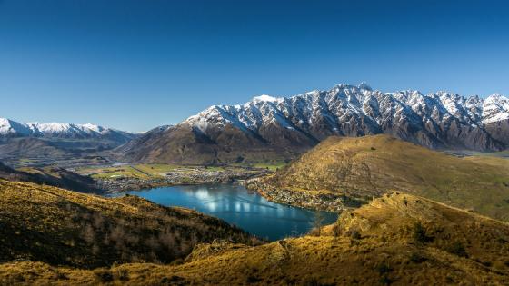 Lake Wakatipu (Queenstown) wallpaper