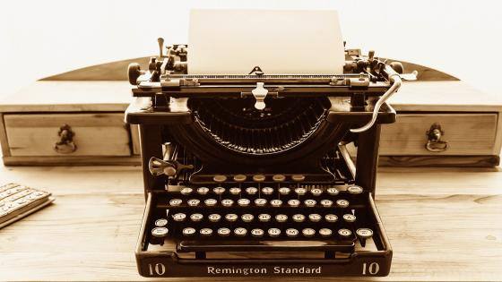 Remington Standard Typewriter Vintage Photo wallpaper