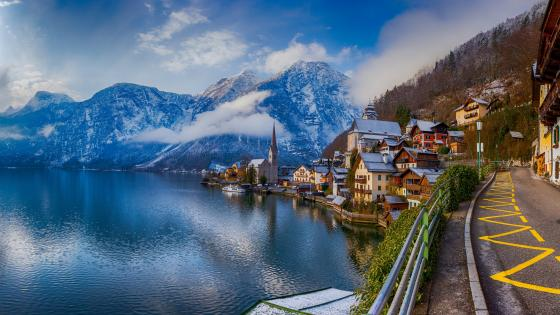 Lake Hallstatt wallpaper