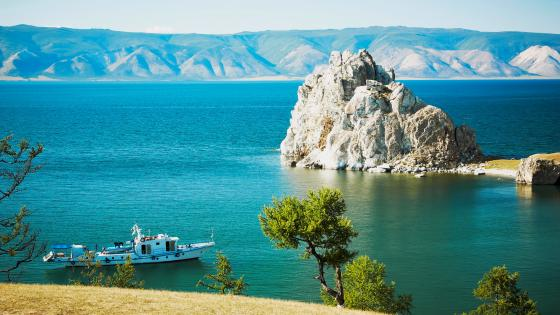 Olkhon Island on Baikal Lake wallpaper