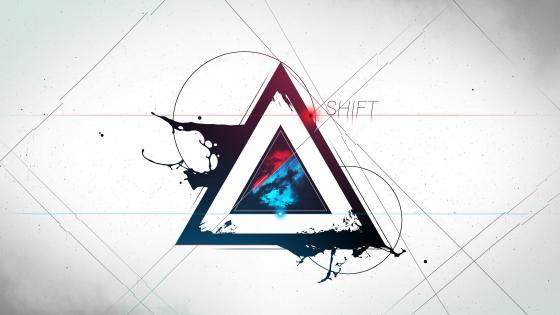 Shift Triangle wallpaper