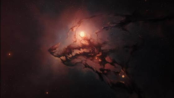 Dragon Nebula wallpaper